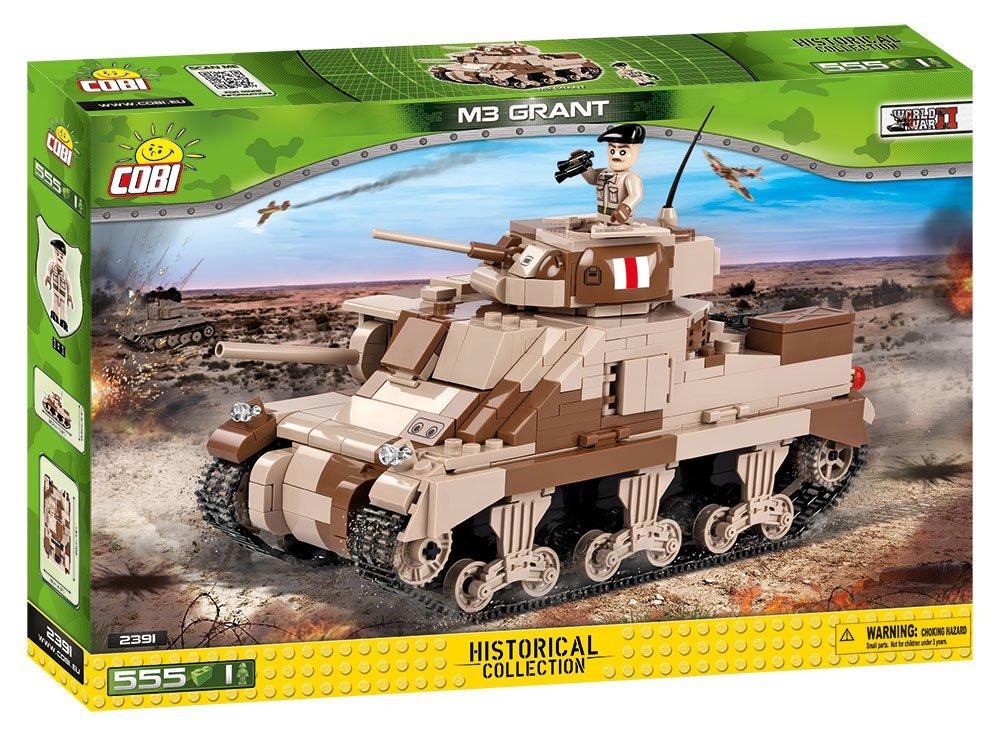 Cobi Blocks Small Army//2391//M3 Grant Building Kit Multicolor