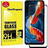 CaseExpert 2 Pack - Motorola One Action Protector de Pantalla, Ultra Tanque Transparente Cristal 9H Cristal Templado Glass Pr