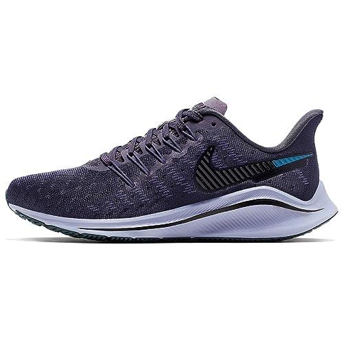 Tenis Running Negro Blanco Nike Air Zoom Vomero 14