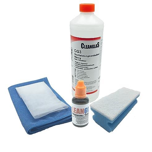 anti kalk bad und sanitr nano glas versiegelung cleanglas mit professionellem sanitr hochleistungsentkalker die - Glasdusche Kalk