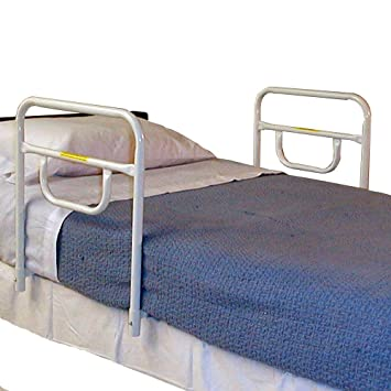 MTS Medical Supply Double Modified Security Bed Rail 18 Inch