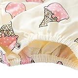 BOBORA Newborn Girl Clothes Cotton Pink Ice Cream