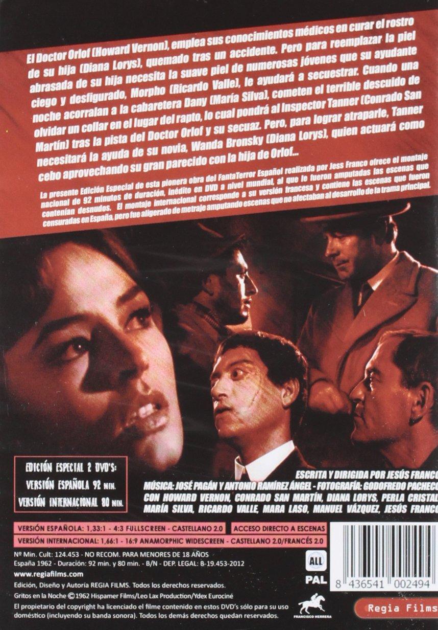 Gritos En La Noche Dvd Amazones Howard Vernon Conrado San