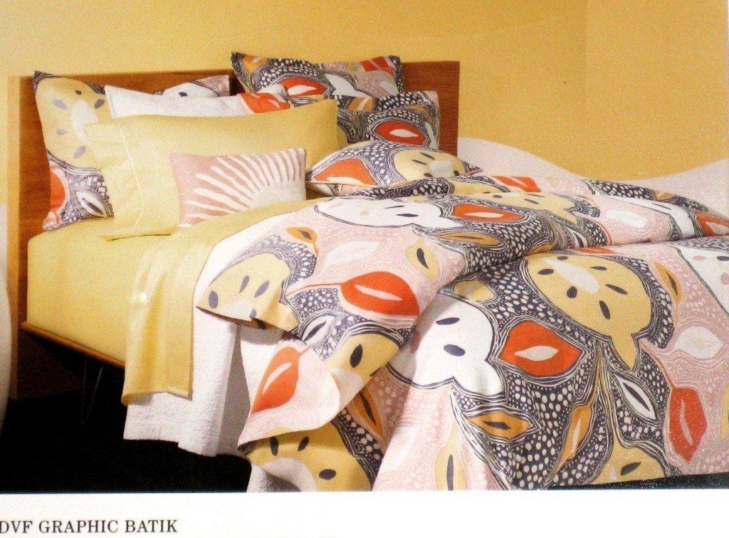 Diane Von Furstenberg Graphic Batik Twin Duvet Cover