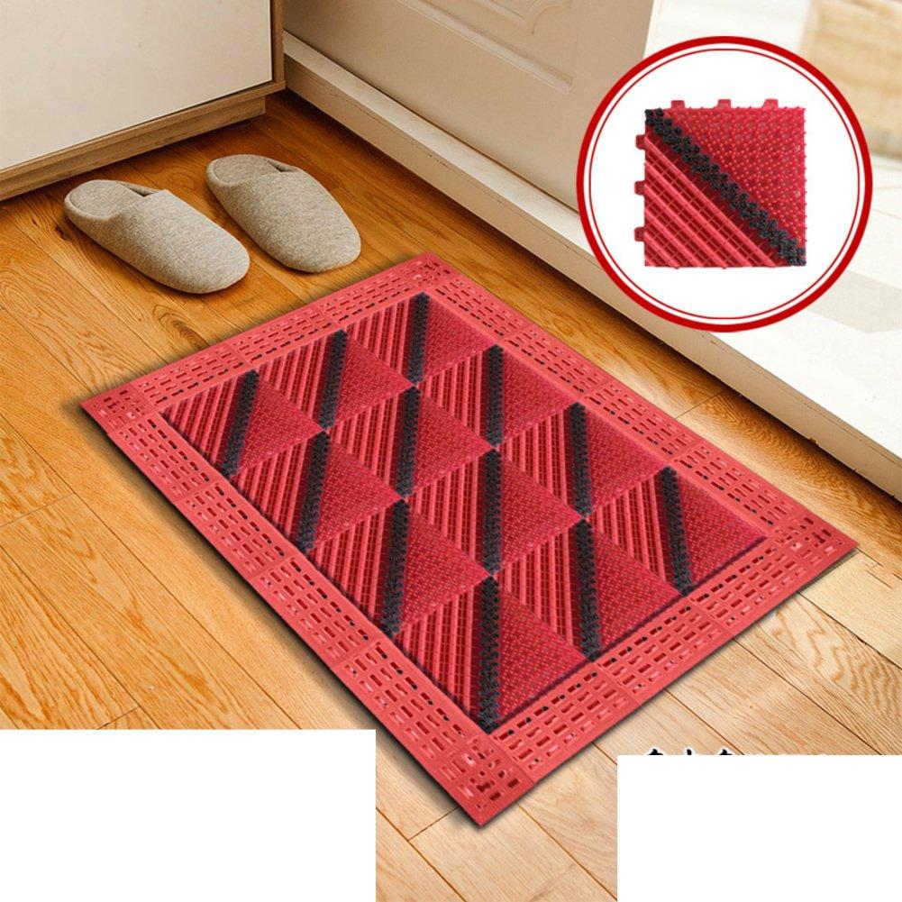 E 45x45cm(18x18inch) Floor Mat Foot Pad Doormat Plastic Mats in The Hall Cut Mat Indoor Mats-A 90x150cm(35x59inch)