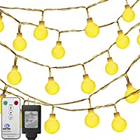 Oak Leaf Globe Ball Fairy 41' 100-LEDs String Lights