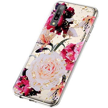 SainCat Funda Compatible con Samsung Galaxy A7 2018/A750 Funda ...