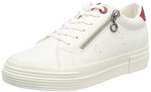 S.Oliver 25201, Zapatillas Para Mujer, Blanco (White), 39 EU amazon-shoes