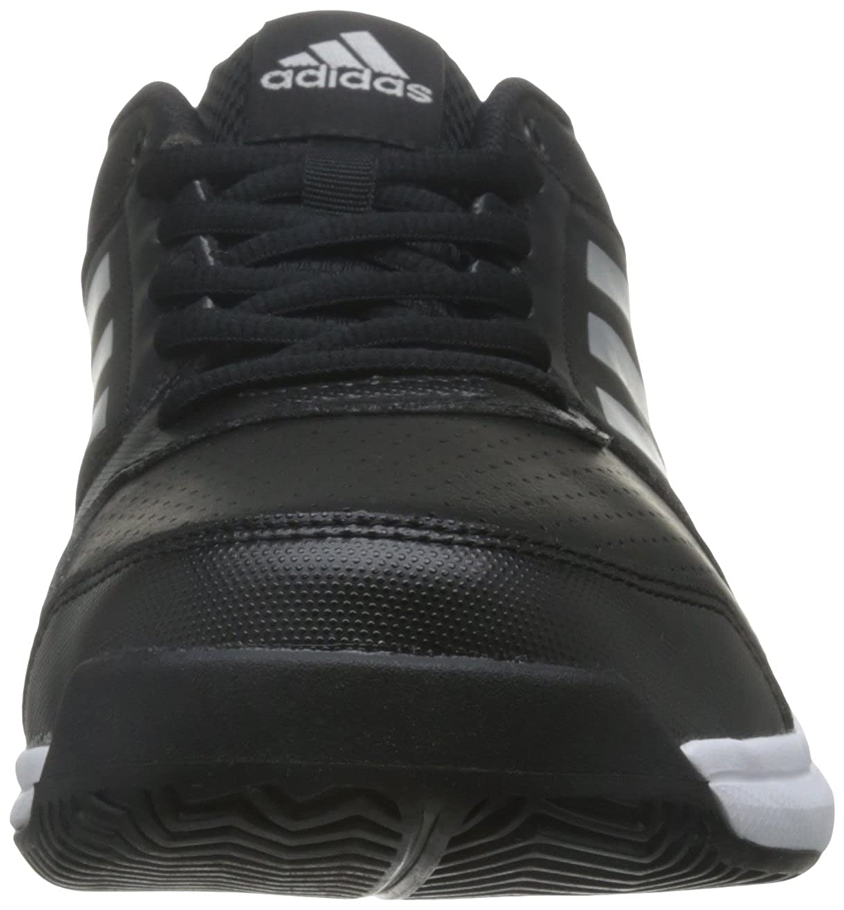 new style ccbcd 5c6d3 Adidas Men s Adizero Attack Cblack, Silvmt and Ftwwht Tennis Shoes - 11  UK India (46 EU)  Buy Online at Low Prices in India - Amazon.in