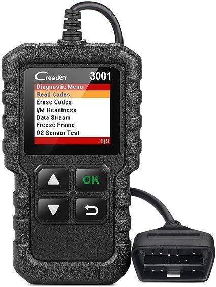 OBDII OBD2 Car Diagnostic Tool Engine Light Check Code Reader Tester Scanner Kit