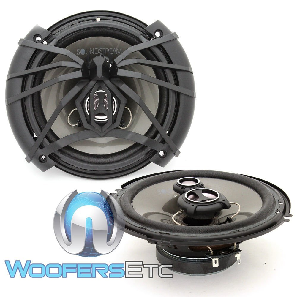 Soundstream AF.653 Arachnid Series 6.5″ 3-Way Speaker, 100w RMS, 4-ohm