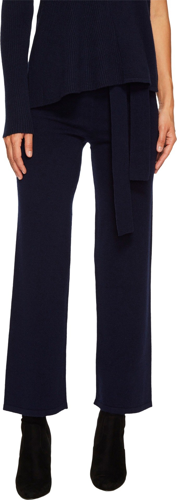 Cashmere In Love Women's Valentin Knit Pants Navy Large