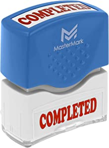 Completed Stamp – MasterMark Premium Pre-Inked Office Stamp