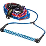 Seachoice 86811 4-Section Water Ski Rope, 15-Inch EVA Grip Handle, 75 Feet Long