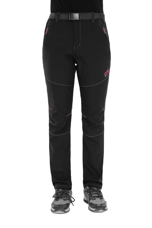Pantaloni Tmaza Donna Trekking Impermeabili Softshell Invernali A54qw15