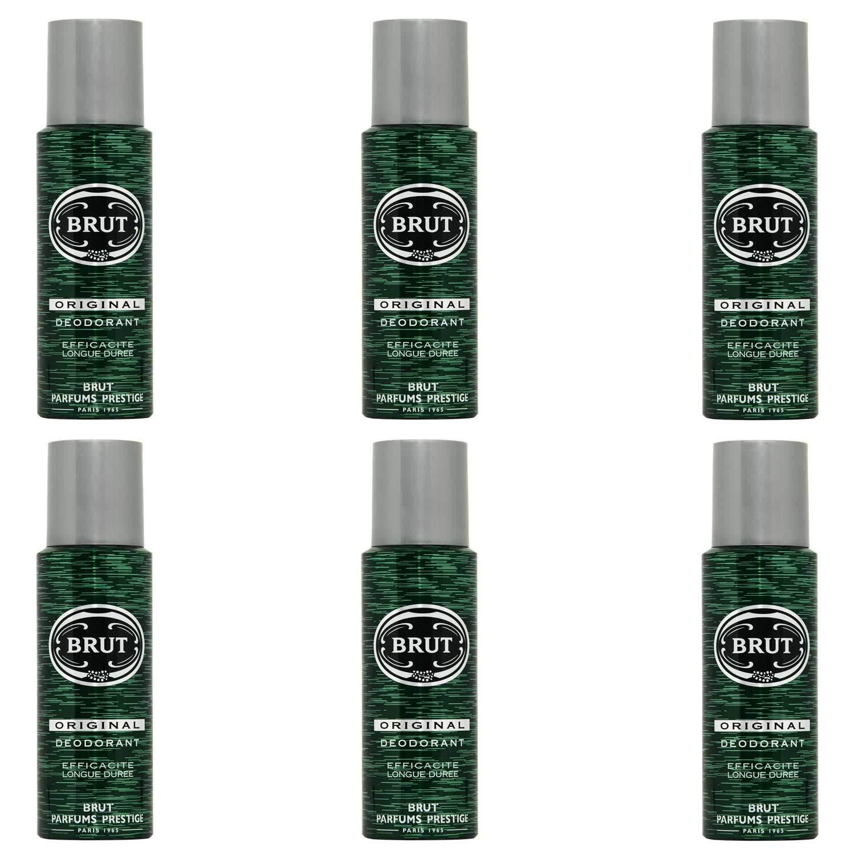 6X Brut Original Deodorante–termine–200ML Unilever