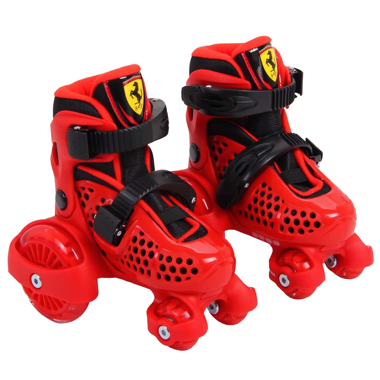 Roller skates red - Amazon Com Ferrari Adjustable Inline Skate Roller Skating Red Size S Sports Outdoors
