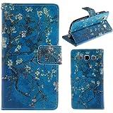 HUANGTAOLI Custodia in pelle Protettiva Portafoglio Flip Case Cover per Samsung Galaxy S3 SIII i9300/S3 Neo i9301