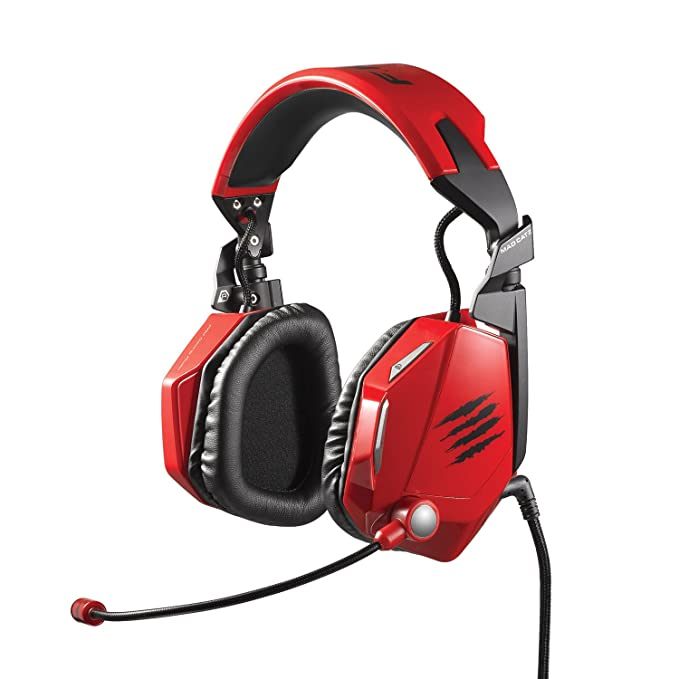 Mad Catz FREQ 7 Surround Sound Gaming Headset for PC