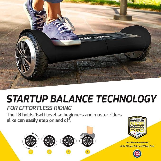 Amazon.com: Swagtron Swagboard Duro T8 - Batería de arranque ...