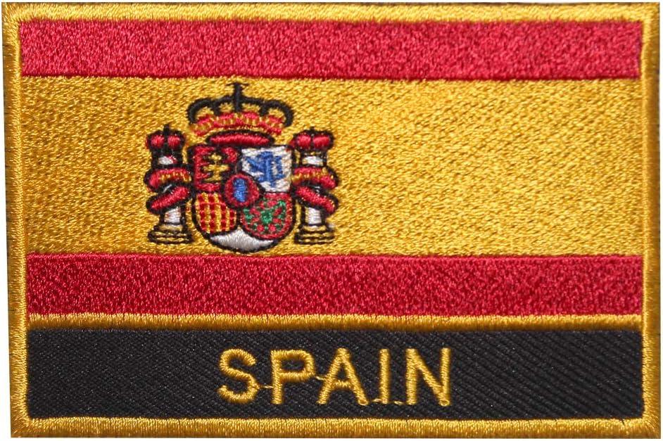 Parche bordado con la bandera nacional del Real Imperio de España ...