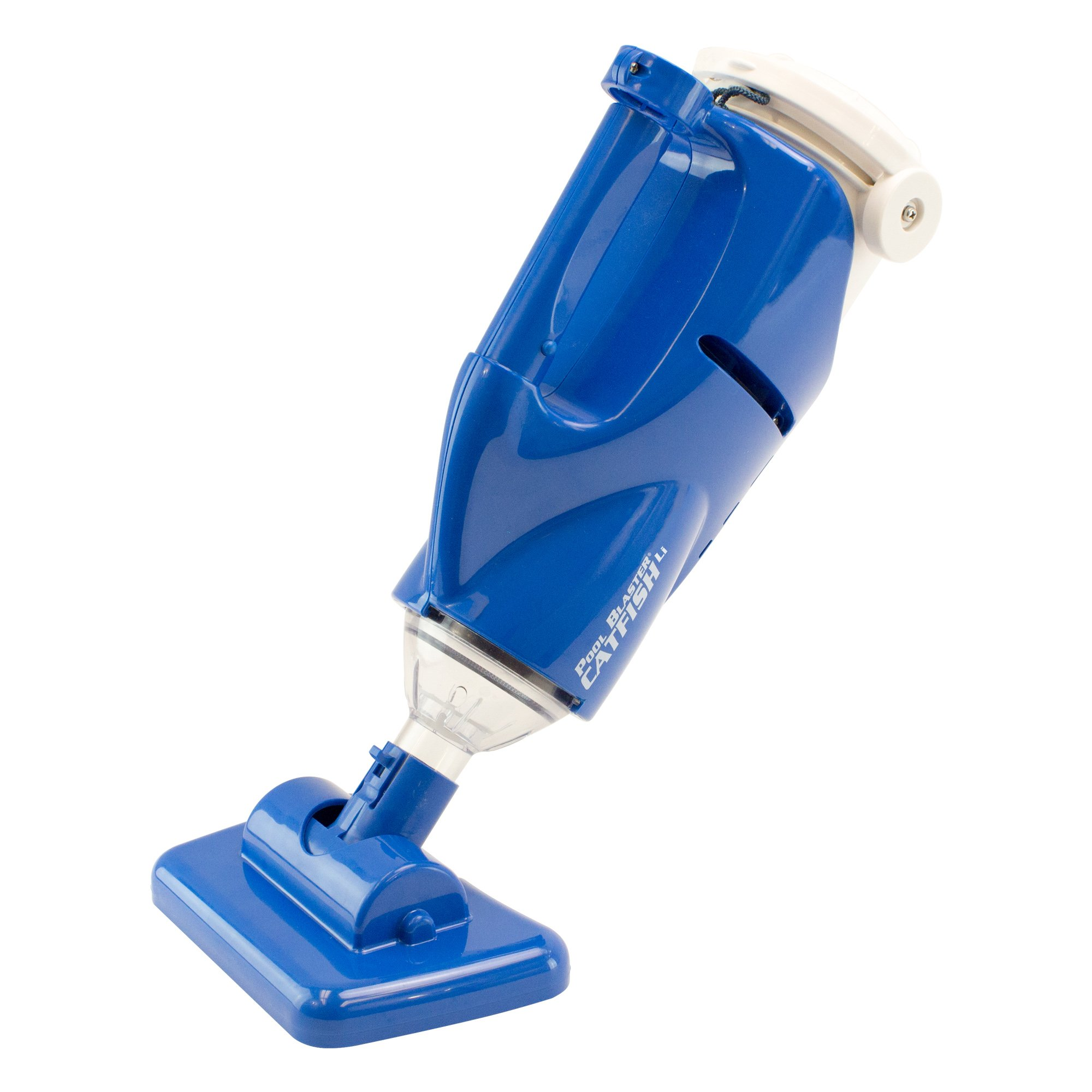 POOL BLASTER Water Tech Catfish Rechargeable, Battery-Powered, Swimming Pool Cleaner, Ideal for Hot Tub and Spa Cleaning, In-Ground and Above Ground Pool Steps Cleans Dirt, Sand & Silt and Leaves
