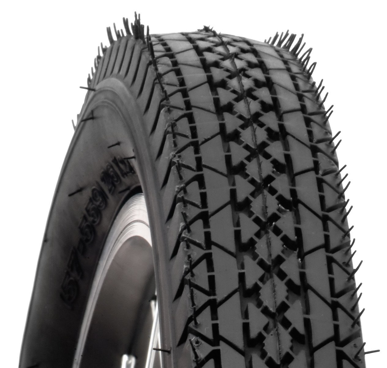 Schwinn Cruiser Bike Tire with Kevlar (Black, 26 x 2.12-Inch) by Schwinn (Image #1)