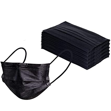 Double-layered Mask Disposable 50pcs set Dust-proof Four-layered