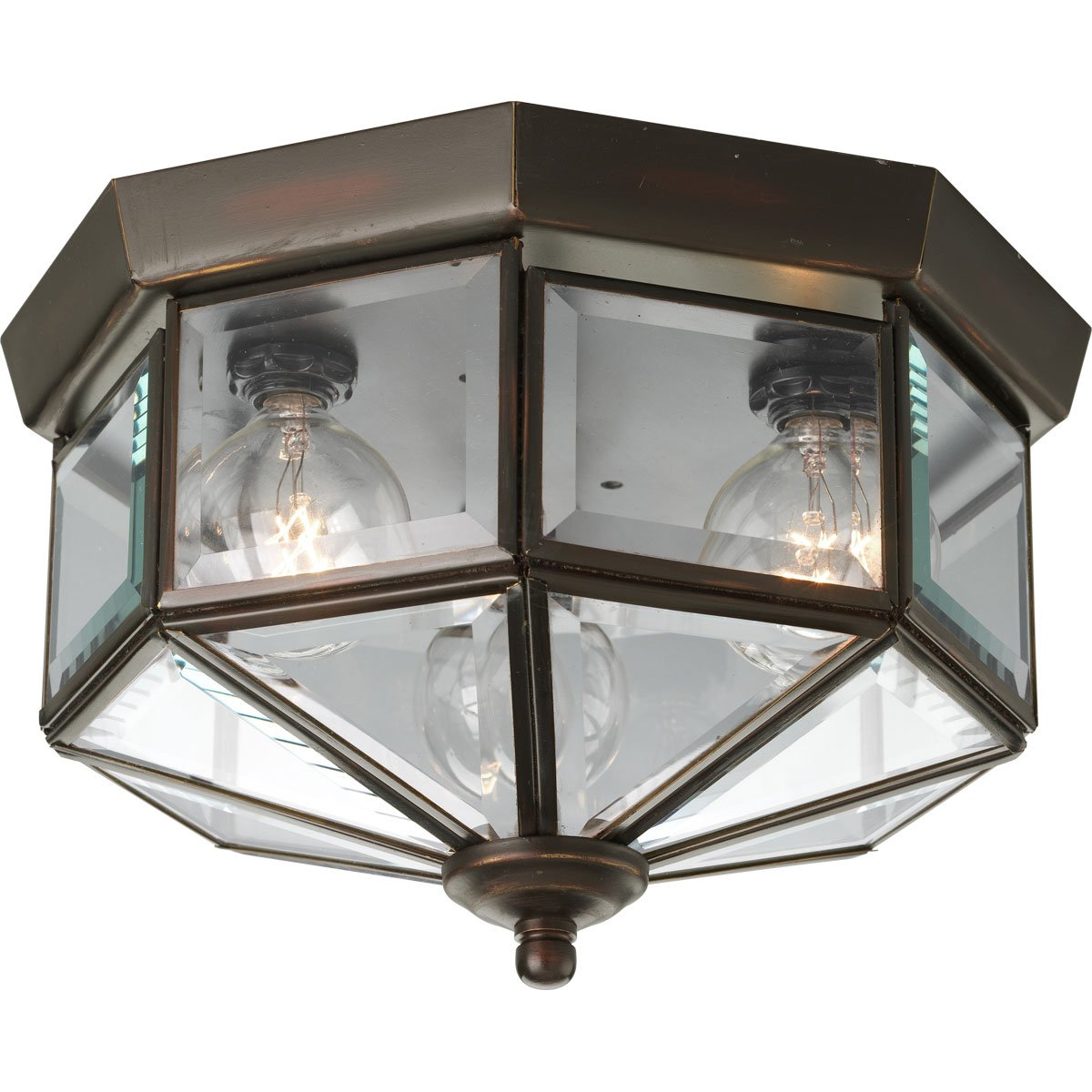 Progress Outdoor Lighting Fixtures Progress lighting p5788 20 octagonal close to ceiling fixture with progress lighting p5788 20 octagonal close to ceiling fixture with clear bound beveled glass antique bronze hall light ceiling fixture amazon workwithnaturefo