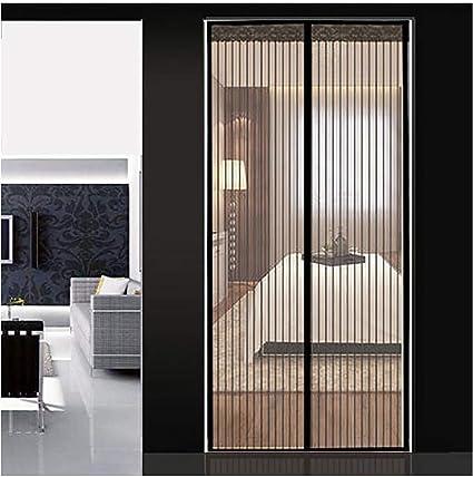 Q&F Mosquitera Puerta corredera Mosquitera para Puerta Cortina magnética Mosquitera Puerta magnetica Abrir y Cerrar automáticamente Puerta Anti Mosquito net-100x210cm(39x83inch): Amazon.es: Hogar