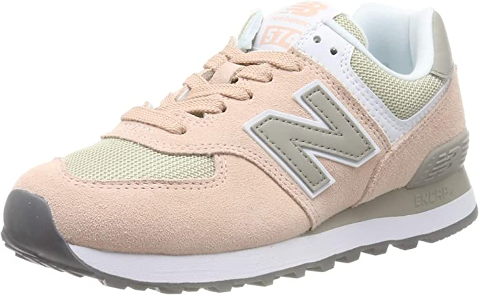 New Balance WL 574 B Sneakers Damen Rosa/Grau (Pink/Grey)