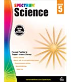 Carson Dellosa – Spectrum Science, Focused Practice to Support Science Literacy for 5th Grade, 144 Pages, Ages 10–11 with Answer Key