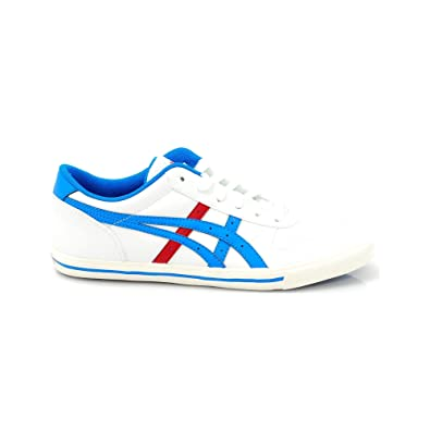 ASICS Herren Aaron Gs weiß/blau 39 EU: Amazon.de: Schuhe & Handtaschen