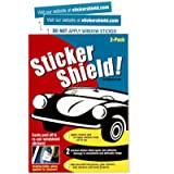 Sticker Shield - Windshield Sticker Applicator for Easy Application, Removal and Re-Application from Car to Car - 1 Pack…