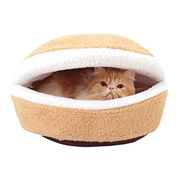 Amazon.com : Sichyuan Detachable Warm Cat Nest Winter Cat Cave, Durable&Comfortable Cat Condo Cat House Bed For Indoor Cats/Kittens/Dogs/Small Animals.