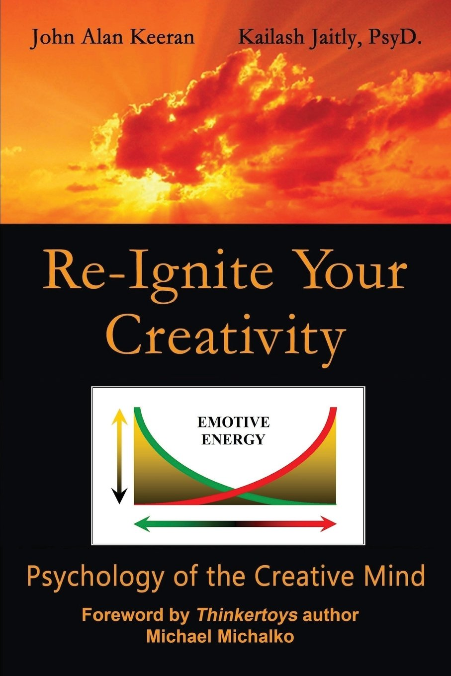 Re-Ignite Your Creativity: Psychology of the Creative Mind Book