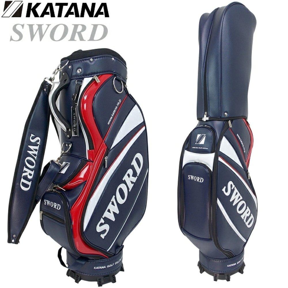 カタナゴルフ スウォード B071HLTJRG SWC-28 キャディバッグ 9型 (KATANA スウォード カタナゴルフ SWORD) B071HLTJRG, 滑川市:c4ff6f71 --- kapapa.site