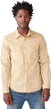 Lucky Brand Men's Long Sleeve Button Up Humboldt Workwear Shirt