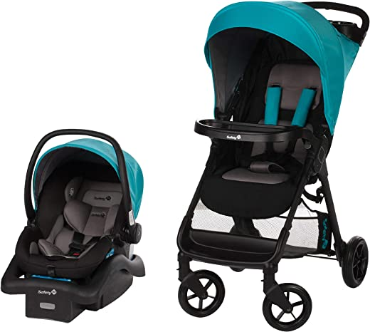Safety 1st Smooth Ride Travel System with onBoard 35 Infant Car Seat,...
