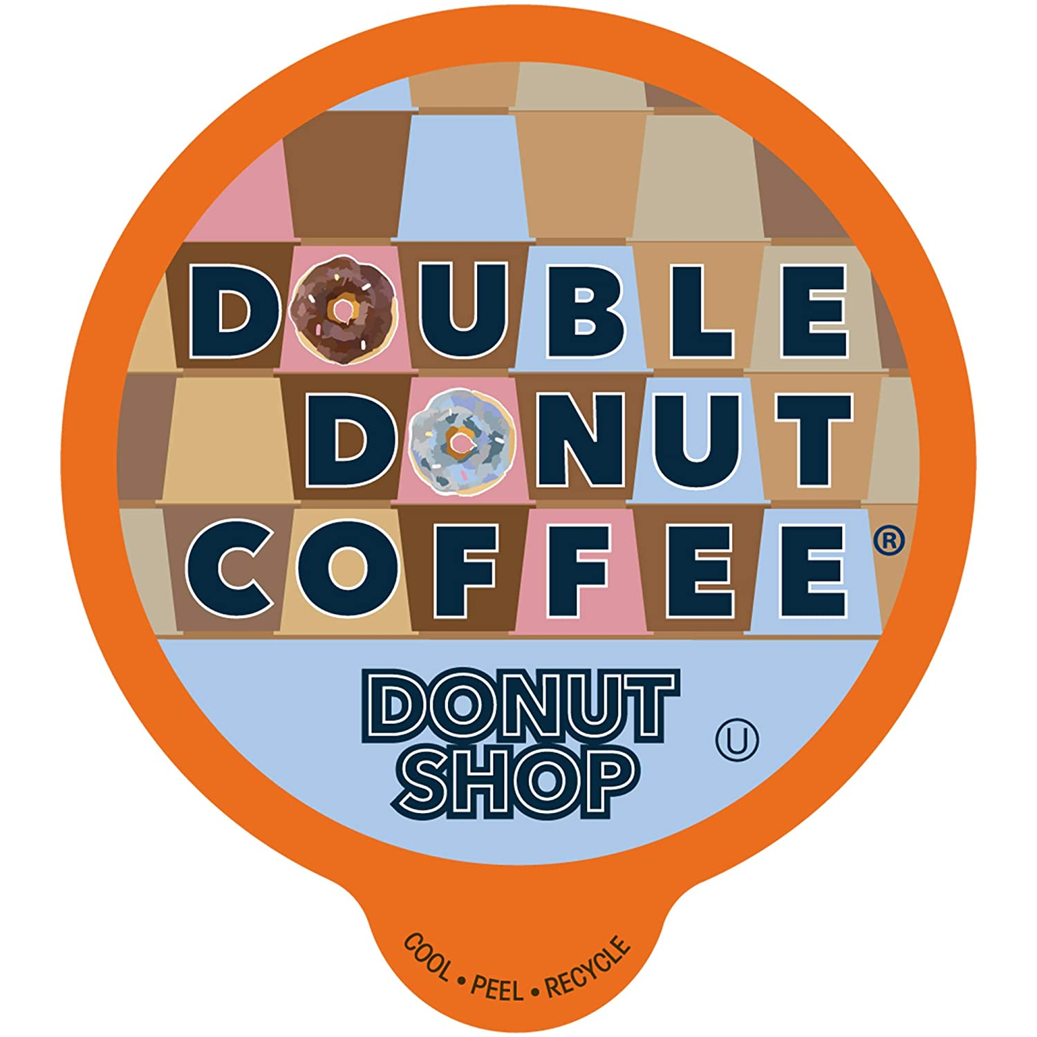 Donut Shop Coffee Pods Medium Roast Coffee, Single-Serve Pods for Keurig K Cup Brewer Machines, 24 Pack
