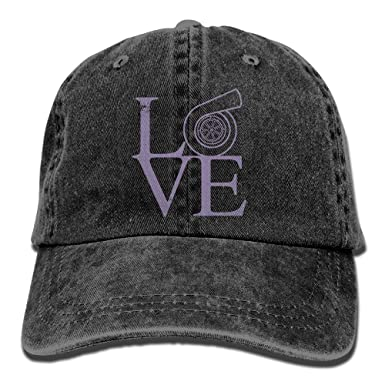 Turbo Lover 0 Unisex Baseball Cap Cotton Denim Adjustable Golf Caps for Men Or Women