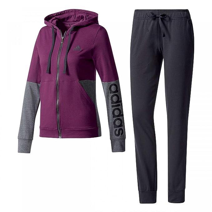 adidas BS2606 - Chándal para mujer, color Multicolor (Rojnoc/Negro), talla XL: Amazon.es: Deportes y aire libre