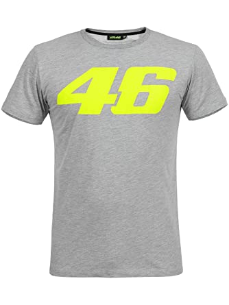 Valentino Rossi Grey Core Large 46 T-Shirt  Valentino Rossi  Amazon ... 6aa528dba42