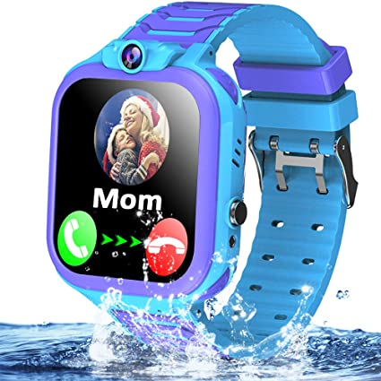 Amazon.com: Kids Waterproof Smart Watch Phone GPS Tracker ...