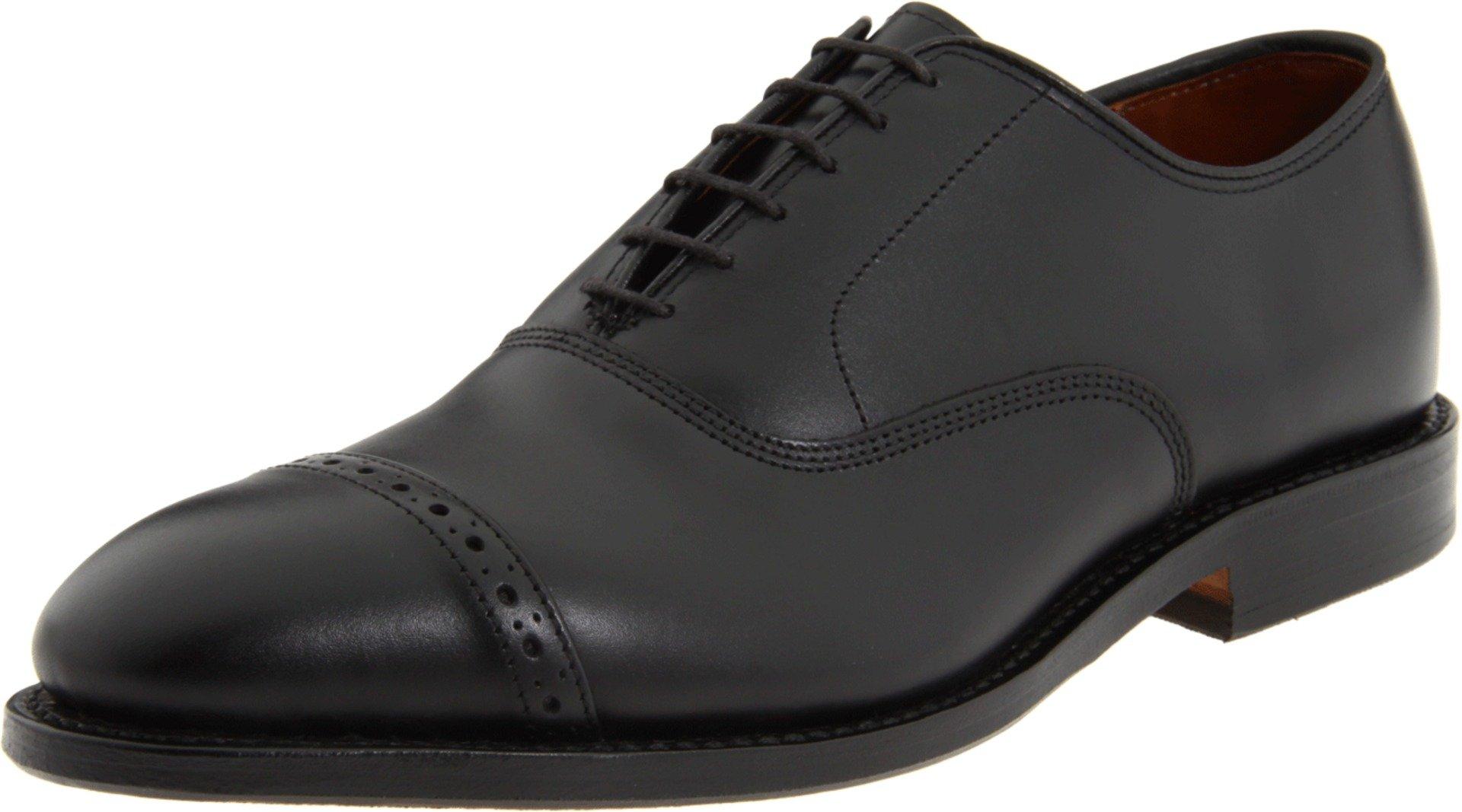Allen Edmonds Men's Fifth Avenue Cap Toe,Black,10.5 EEE US