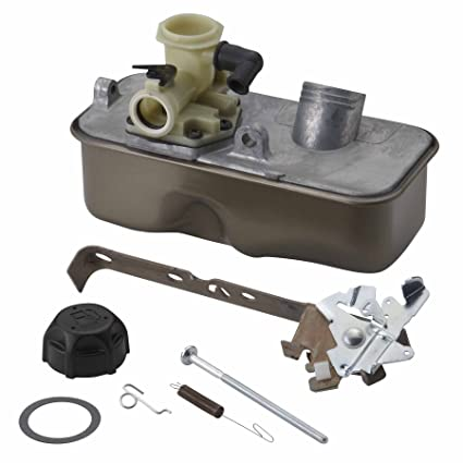 amazon com : briggs & stratton 495912 carburetor and tank kit : lawn and  garden tool replacement parts : garden & outdoor
