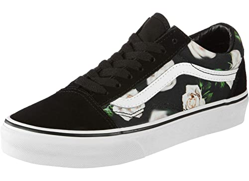 26ff3bc2f0 Vans Old Skool Shoes Romantic Floral Black True wht  Amazon.co.uk  Shoes    Bags
