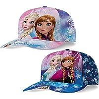 Gorra con visera Disney Frozen Anna y Elsa 45361