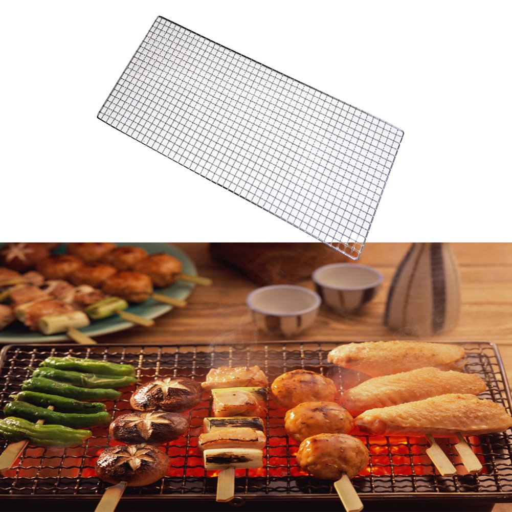Cooking Grates Barbecue Grill Iron Wire Baking Grid Net for Outdoor Barbecue zsl