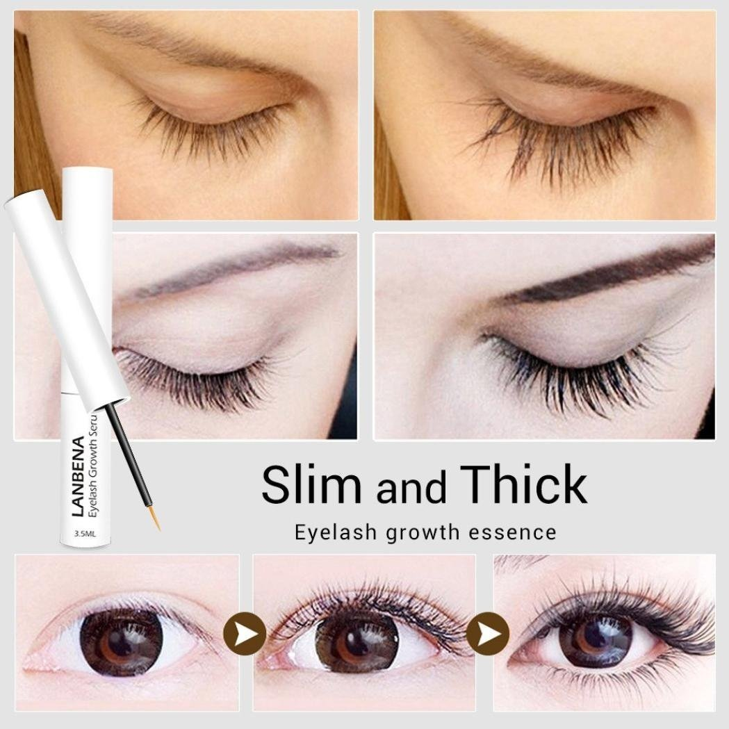 YRD TECH Lash & Brow Booster Serum Gives You Longer Fuller Thicker Looking Eyelashes (Multicolor) by YRD TECH (Image #5)